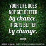Change Requires Motivation